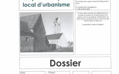 4ème modification du Plan Local d'Urbanisme