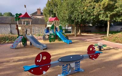 ré-ouverture après travaux du parc de jeux
