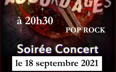 Concert et feu d'artifice le 18 septembre 2021
