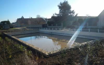 Fin des travaux du bassin de rétention des eaux pluviales rue du Gault
